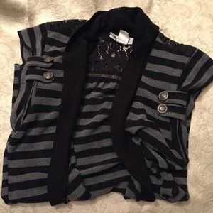 Short Sleeve Cardigan